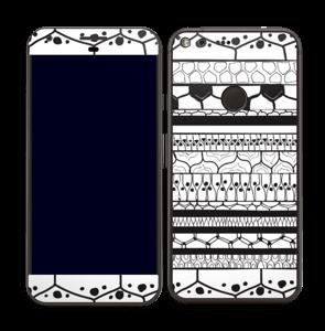 Motifs noir & blanc Skin Pixel XL