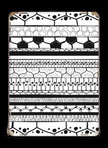 Black stripes Skin IPad Pro 12.9