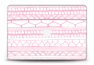 "Pink stripes Skin MacBook Pro Retina 15"" 2015"