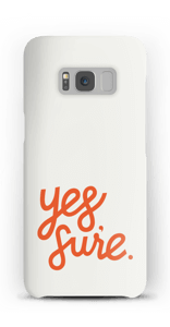 Yes Sure case Galaxy S8