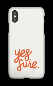 Yes Sure funda IPhone X