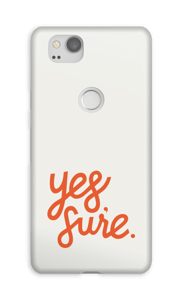 Yes Sure cover Pixel 2