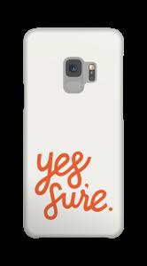 Yes Sure funda Galaxy S9