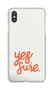 Yes Sure cover IPhone XS Max