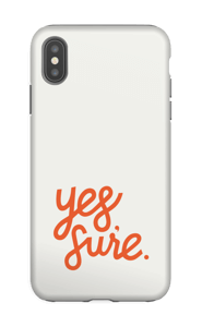 Yes, Sure. Coque  IPhone XS Max tough