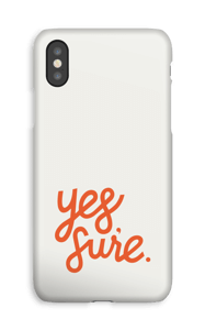 Yes Sure case IPhone XS
