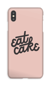 Eat cake cover IPhone XS Max