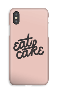 Eat Cake case IPhone XS