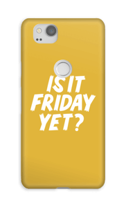 Friday Yet? cover Pixel 2