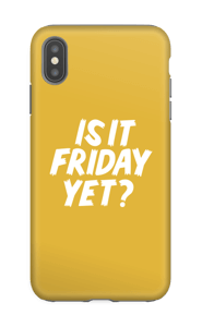 Friday Yet?  Coque  IPhone XS Max tough