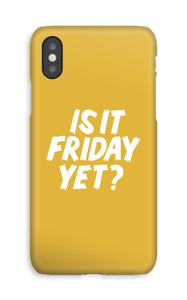Friday Yet?  Coque  IPhone XS
