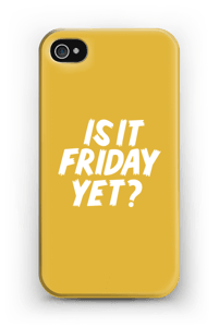Friday Yet? case IPhone 4/4s