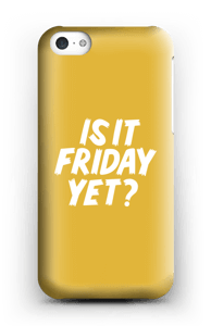 Friday Yet? cover IPhone 5c