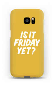 Friday Yet? case Galaxy S7 Edge