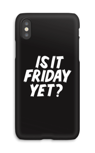 Friday Black funda IPhone X