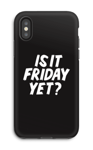 FRIDAY YET? skal IPhone X tough