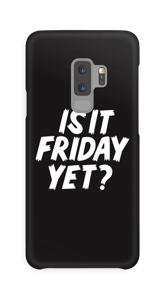 FRIDAY YET? cover Galaxy S9 Plus