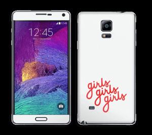 Girls girls girls Skin Galaxy Note 4