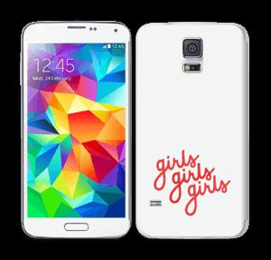 Girls girls girls Skin Galaxy S5