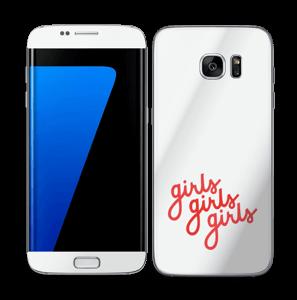 Girls girls girls Skin Galaxy S7 Edge