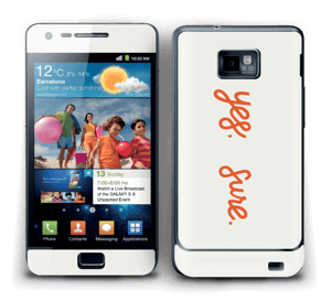 Yes, sure Skin Galaxy S2