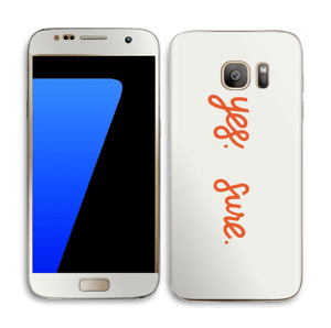 Yes, sure Skin Galaxy S7