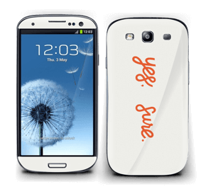 Yes, Sure Skin Galaxy S3