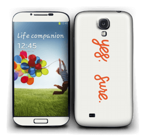 Yes, sure Skin Galaxy S4