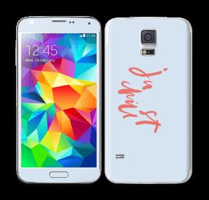 Just Chill Skin Galaxy S5