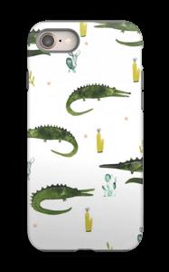 Krokotiili kuoret IPhone 8 tough