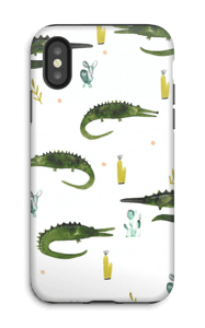 Crocodile Dundee case IPhone X tough