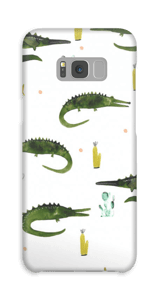Krokotiili kuoret Galaxy S8 Plus