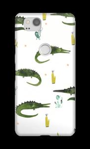 Krokodile Handyhülle Pixel 2