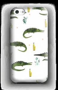 Krokotiili kuoret IPhone 5c
