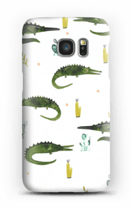 Krokodile Handyhülle Galaxy S7