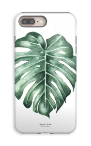 Monstera Deliciosa case IPhone 8 Plus tough