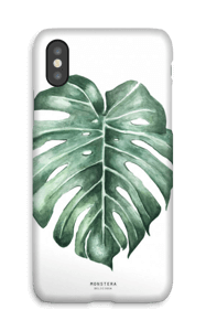 Monstera Deliciosa case IPhone X