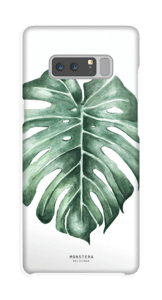 Monstera Deliciosa case Galaxy Note8