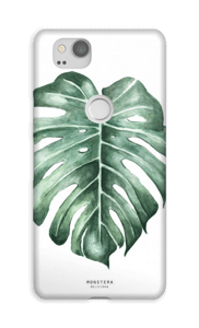 Monstera Deliciosa case Pixel 2