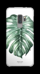 Monstera Deliciosa case Galaxy S9 Plus