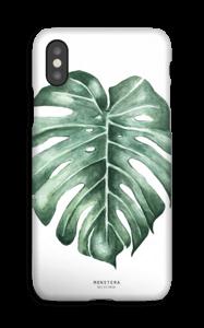 Monstera Deliciosa case IPhone XS