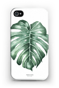 Monstera Deliciosa case IPhone 4/4s