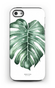 Monstera Deliciosa case IPhone 5/5s tough