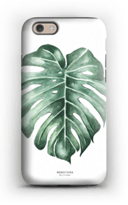 Monstera Deliciosa case IPhone 6 tough