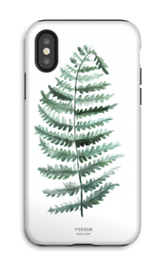 Pteridium Aquilinum case IPhone X tough