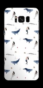 Au fond de la mer Skin Galaxy S8