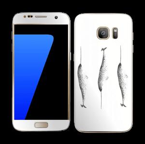 Narwhale Skin Galaxy S7