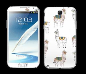 Alpagas Skin Galaxy Note 2