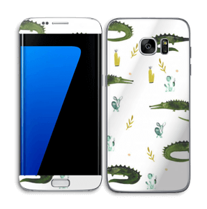 Crocos Skin Galaxy S7 Edge