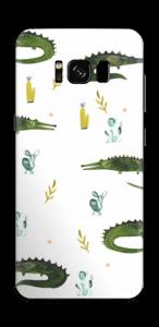 Cocodrilos Vinilo  Galaxy S8